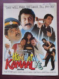 Press Book Indian Movie promotional Song book Pictorial Hum Hain Kamaal Ke 1993