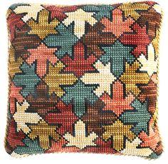 Kits Cojines Cañamazo Grueso Russian Cross Stitch, Dmc Cross Stitch, Cross Stitch Love, Cross Stitch Patterns, Needlepoint Pillows, Needlepoint Patterns, Blackwork Embroidery, Cross Stitch Embroidery, Cross Stitch Cushion