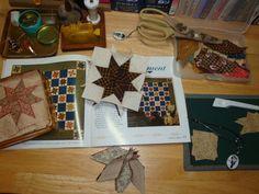 Jo Morton Free Patterns   Whenever I have time, I'm working on Jo Morton's Indigo Moment quilt .
