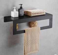 Iron Furniture, Steel Furniture, Furniture Design, Bathroom Design Inspiration, Bathroom Design Luxury, Bathroom Shelves, Bath Shelf, Towel Shelf, Home Accessories