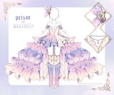 Terms of Use -Please make a payment within 3 days -Resell, Trade, Gift : OK - keep the price same or lower -Commercial Use : OK - must be redraw -Must n. [closed] Prism of Serenity Outfit Manga Clothes, Drawing Clothes, Dress Drawing, Clothing Sketches, Dress Sketches, Fashion Design Drawings, Fashion Sketches, Dress Anime, Princess Outfits