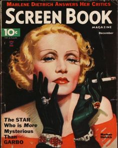 Marlene Dietrich. 1934  http://magazine-covers.lucywho.com/marlene-dietrich-magazine-covers-t6312.html