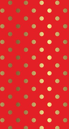 Red iphone background with gold dots. Free wallpaper design. Christmas and holiday free wallpaper for iphone 5.
