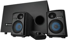 Corsair Gaming Audio Series SP2500 High-Power 2.1 PC Speaker System (CA-SP211NA) Corsair