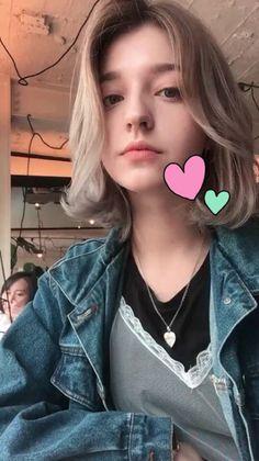 Mode Kawaii, Kawaii Girl, Girl Face, Woman Face, Angelina Danilova, Korean Short Hair, Shot Hair Styles, Western Girl, Cute Beauty