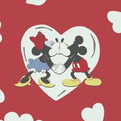 disney, mickey mouse and minnie mouse image on We Heart It