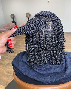 Mixed Hairstyles, Twist Braid Hairstyles, Natural Hairstyles For Kids, Dope Hairstyles, African Braids Hairstyles, Protective Hairstyles, Natural Hair Flat Twist, Natural Hair Braids, Dyed Natural Hair