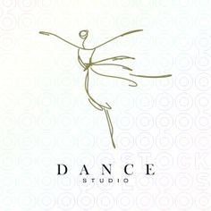 DANCE STUDIO logo - SOLD c. sheri nutter illustration + design 2013 all rights reserved