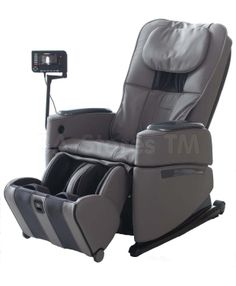 Osaki OS-Pro Intelligent Zero Gravity Massage Chair in Grey