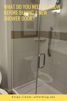 What do you need to know before buying a new shower door? Vigo Shower Doors, Frameless Shower Doors, Dreamline Shower, Sink, Chrome, Rest, Home Decor, Sink Tops, Interior Design