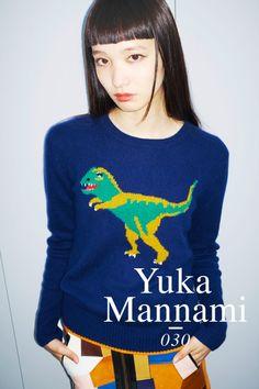東京it girlsの着回しリレー/Vol.30 萬波ユカ   FASHION   ファッション   VOGUE GIRL