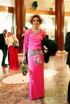 Cóctel De Los Premios TELVA Moda 2014 | TELVA - NATI ABASCAL 71 YEARS OLD 2014