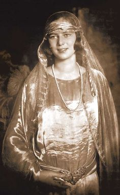 Princess Ileana of Romania. 1920s.