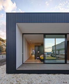 Best Ideas For Modern House Design & Architecture : – Picture : – Description Brooklyn Prefab by Modscape Prefab Modular Homes, Modular Housing, Prefabricated Houses, Modern Modular Homes, House Cladding, Facade House, Residential Architecture, Interior Architecture, Sustainable Architecture