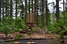 Spring Gardens Park - Multnomah Village Camille Park, Beaverton