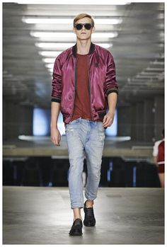 G-STAR RAW SPRING/SUMMER 2015 MENSWEAR COLLECTION