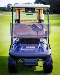 Your chariot awaits you @mayakobagolfcourse… It's time to #PLAYmayakoba!  #elcamaleón #golf #playadelcarmen #golfcourse #MayakobaLife #Mayakoba #PGATOUR