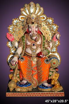 Lalbaugcha Raja with Diamond - Hand Creations India's Blog | Buy and Sell Hand Crafted Products!