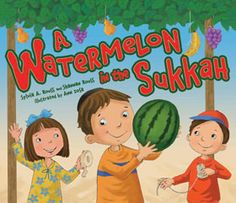 Sukkot and Simchat Torah books from PJ Library