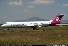 Mexicana Fokker 100 (F-28-0100) aircraft picture