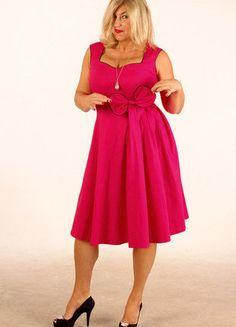 Kupuj mé předměty na #vinted http://www.vinted.cz/damske-obleceni/kratke-saty/13731863-pink-saty-grace-lindy-bop-nove-vel-14