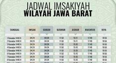 Jadwal Imsakiyah Ramadan 1440 H Wilayah Jawa Barat Dan Sekitarnya            Jadwal Buka Puasa 2020 Dan Imsakiyah Wqa        Jadwal Puasa Imsakiyah Ramadhan 2020 Dan Sholat Wilayah Jawa Barat        Jadwal Imsakiyah Ramadhan 2020 Untuk Dki Jakarta Bandung        Pao5n3n05viqum        Jadwal Buka Puasa 2020 Dan Imsakiyah Wqa        Cek Jadwal Sholat Januari 2020 Untuk Dki Jakarta Di Sini        Jadwal Imsak Shalat Dan… Periodic Table, Diagram, Ramadan, Calendar, Periotic Table