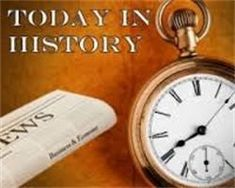 Today in History: Today is November 11: In 1918 today - Veterans' Day celebrated in America ... Read more...