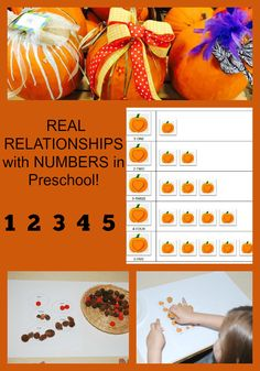 Establishing REAL RELATIONSHIPS with NUMBERS in Preschool! #TeachECE | The Preschool Toolbox Blog