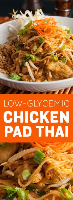 Skip the take-out and make your own Chicken Pad Thai using fresh, all-natural ingredients at home.  Sweeten with Madhava Organic Cassava for a low-calorie-, low-carb, fructose-free alternative to sugar.