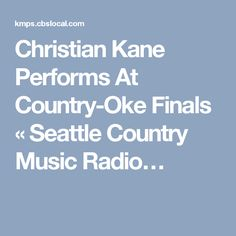 Christian Kane Performs At Country-Oke Finals « Seattle Country Music Radio, News, Artists, Gossip – KMPS Country Music Radio, Golf Events, Christian Kane, Finals, Charity, Seattle, Gossip, Articles, News