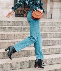 """""""Leaving rehearsal at Opéra Garnier – the place I call my office, my stage, pretty much my second home. I love to climb out onto the roof on a clear day to get some sun between rehearsals,"""" a day with ballet dancer Hannah O'Neill in Paris #chloeGIRLS Find your perfect Valentine's Day gift on chloe.com"""