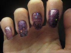 marbleize nail tutorial