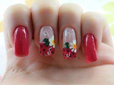 Pin de zuly gonzalez en uñas decoradas маникюр, дизайн ногтей летом y ногти Gel Designs, Nail Art Designs, Nailart, Snacks For Work, Bettering Myself, Flower Nails, Nail Trends, Nail Artist, Art Day