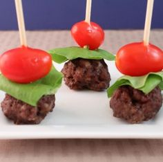 More party food! Bacon Meatballs are delicious for every phase (just use nitrate-free turkey bacon). Switch up the veggies any way you like -- chunks of avocado for Phase 3, jicama for Phase 2, etc.