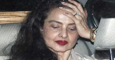 Rekha looks minimal with Make up  #Rekha #MakeUp #Bollywood #Celebrities #Facts