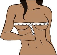 Tutorial to correctly measuring your bust for bra fits, and calculates your bra size! Bra fit