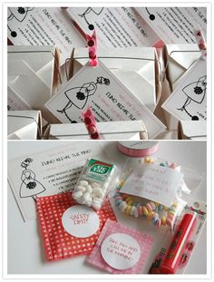 Bachelorette party survival kits by mandy