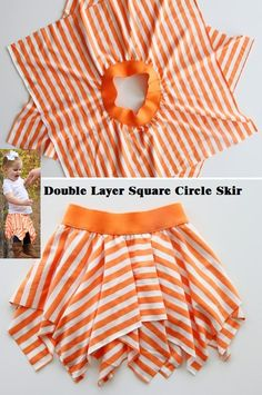 Double layer square circle skirt sew*couture*for little kids Frocks For Girls, Dresses Kids Girl, Toddler Girl Outfits, Kids Outfits, Girls Frock Design, Kids Frocks Design, Frock Fashion, Skirt Fashion, Square Skirt