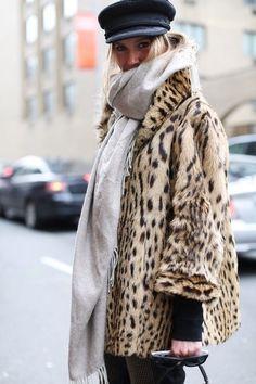 Cozy in leopard