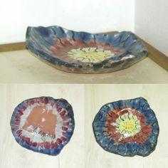 ciotola a colori in ceramica
