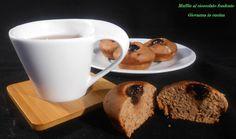 Muffin al cioccolato fondente, dolci, scampagnata, giovanna in cucina