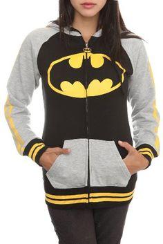 DC Comics Batman Varsity Ears Girls Zip Hoodie Size : Small Hot Topic http://www.amazon.com/dp/B005XI8LSM/ref=cm_sw_r_pi_dp_aLVWub0KMGAXR