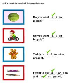 math worksheet : 1000 images about english  a an on pinterest  kindergarten  : A And An Worksheets For Kindergarten