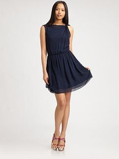 Alice + Olivia Silk Dress