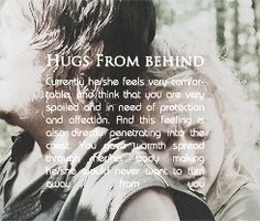 Hugs From Behind with Daryl and Beth - Bethyl - the Walking Dead