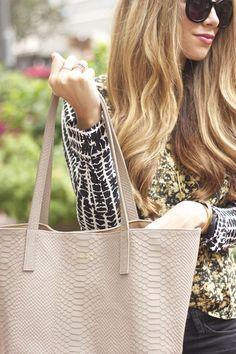 GiGi New York | The Teacher Diva Fashion Blog | Stone Teddie Tote