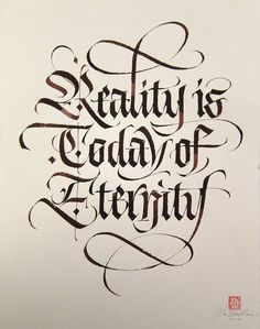 Reality is today of eternity. | Flickr - Photo Sharing!
