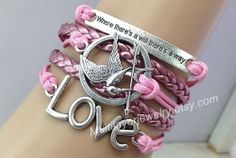 "Check out LOVE Bracelet ,""where there's a will there's a way""bracelet,infinity bracelet,faith bracelet,Hunger brac"" Decal @Lockerz http://lockerz.com/d/27272048?ref=taken.dai9187"