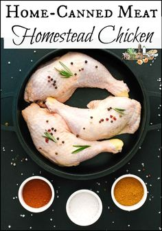 Here are the steps of canned meat, specifically fresh chicken l Growing, butchering, pressure canning l Homestead chicken canning l Homestead Lady Canning Pressure Cooker, Pressure Cooker Chicken, Pressure Cooker Recipes, Fresh Chicken, Canned Chicken, Healthy Dinner Recipes, Whole Food Recipes, Canning Granny, Canned Meat