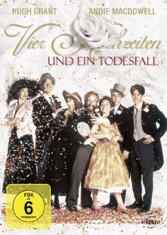 Vier Hochzeiten und ein Todesfall * IMDb Rating: 7,0 (76.180) * 1994 UK * Darsteller: Hugh Grant, James Fleet, Simon Callow,